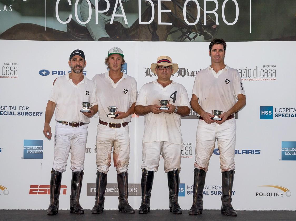 Team Pitirri El Palenque, ganadores de la Copa subsidiaria categoría 12 goles. Imagen: Matías Callejo