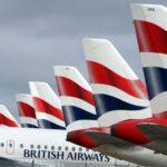 Cancelaciones y retrasos de British Airways dejan unos 75 mil pasajeros afectados