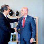 Nuevo embajador español se interesa por la marcha del turismo en el país