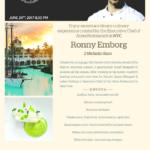 Cena Iberostar Chef Ontour, 24 de junio con el Chef Ronny Emborg.