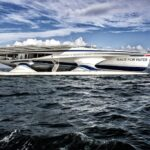 Llega al país el primer barco autónomo por energía solar e hidrógeno