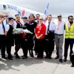 Llega primer vuelo de Azur Air desde Alemania, esperan incrementar pronto a 6 conexiones semanales