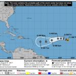 Atención a la trayectoria de Irma. Ya es huracán categoría 2.