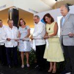 Con la presencia del Presidente Medina, inauguran el Blue Mall Punta Cana