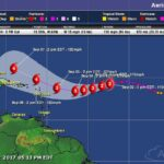 Poco cambio en la trayectoria de Irma, a medida que se acerca a las Antillas