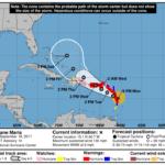 María se fortalece más y amenaza a Dominica y Puerto Rico.