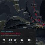 María pasando por Puerto Rico se aproxima a Costa Noreste de RD