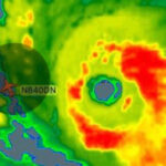 El vuelo de Delta Airlines que desafió al poderoso Huracán Irma